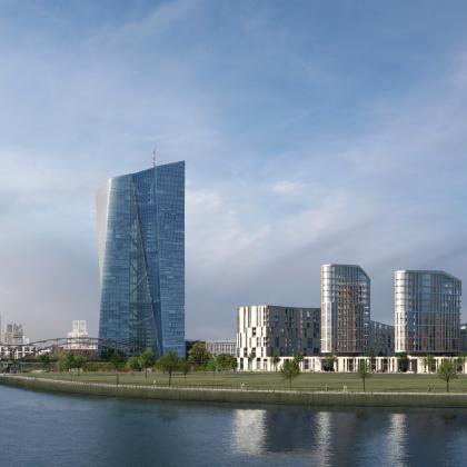 Hafenpark Quartier Frankfurt Baufeld Süd