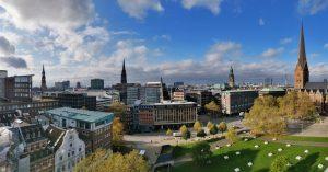 Hamburg vom Domplatz aus
